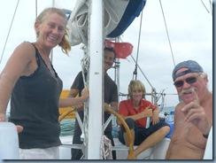 10 Kanaldurcfahrt Die Crew